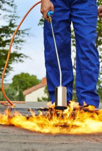 Das Abflammgerät als Auftauhilfe